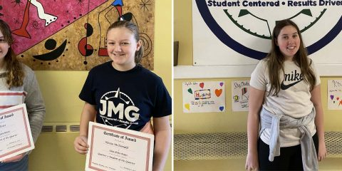 JMG Celebrates Students of the Quarter